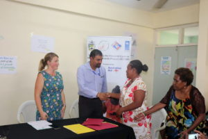 Handover equipement elections Solomon Islands