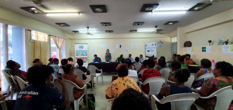 Launching of outstanding women initiative in Solomon Islands